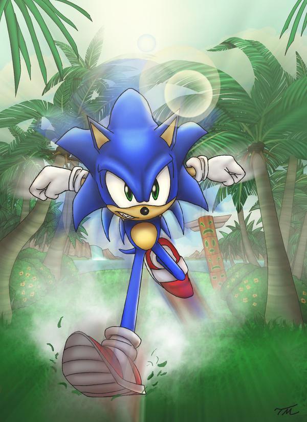 Fastest Hedgehog Alive by Thriller-Man