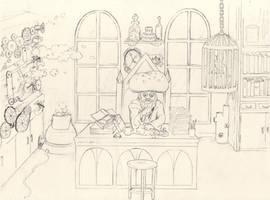 HPMoR Dumbledore by NekoNutchi