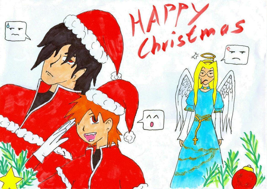 Happy Hellsing Christmas by she-ga-roo on DeviantArt