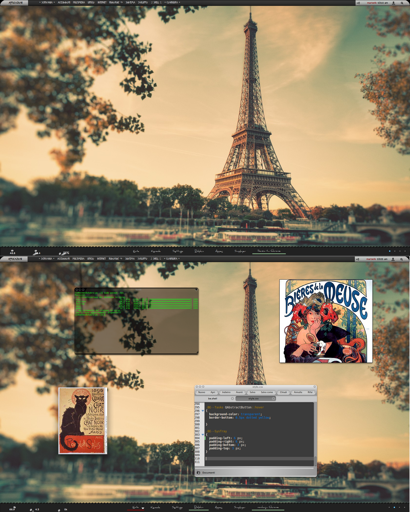 Nouveau - Idea for a theme by Hombremaledicto