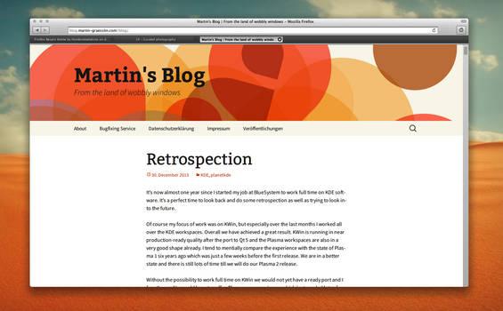 Firefox Bespin theme