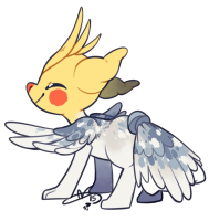 Kit: Cockatiel by Pillowing-Archive
