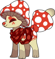 Standard: Toadstool by Pillowing-Archive