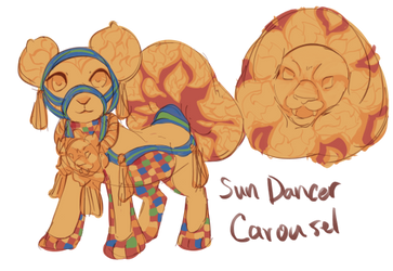 Standard: Sun Dancer Carousel by Pillowing-Archive
