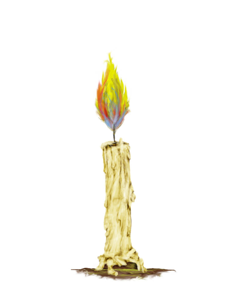 Candle Painting by SpitFire19er on DeviantArt for Melting Candle Painting  197uhy