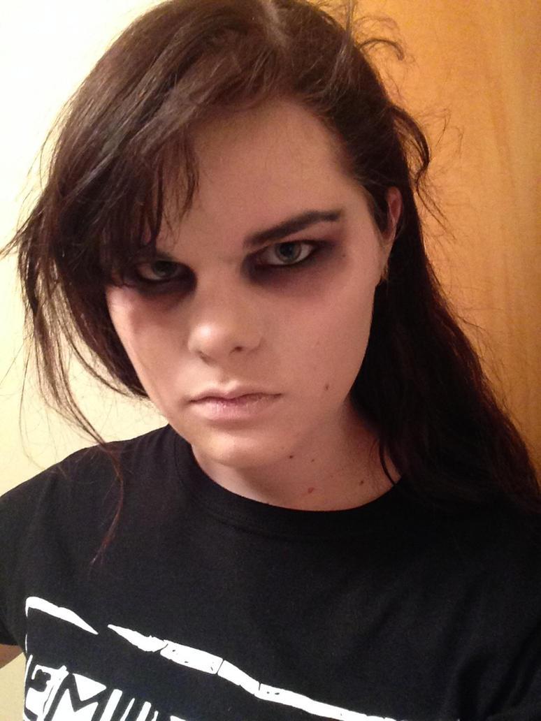 Gerard Way (Revenge Era) Test Makeup by SkittsTheEchidna