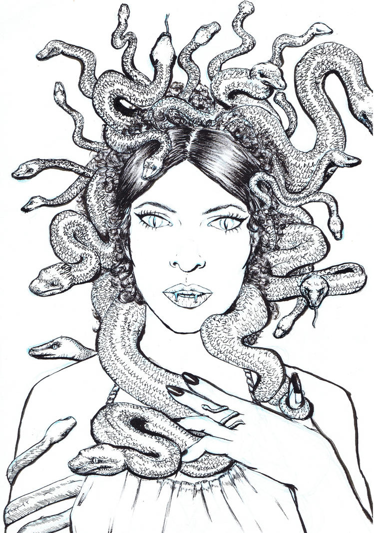 Medusa by Andreth