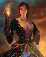 Triss Merigold by PolinaKahnum