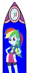 Mlp Eqg Stained Glass Windows Concept 10 by DubstepPonyArtist911