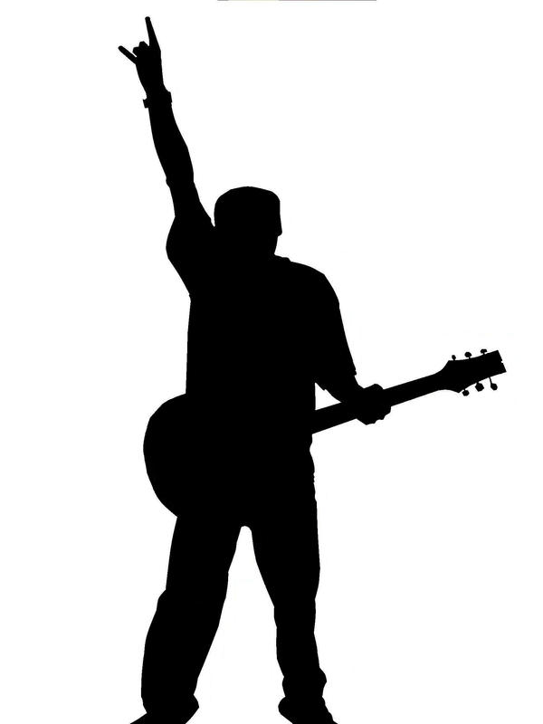 Guitar Player Silhouette 2 by chill32 on DeviantArt