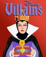 Disney Vector Villains: Evil Queen by tjjwelch