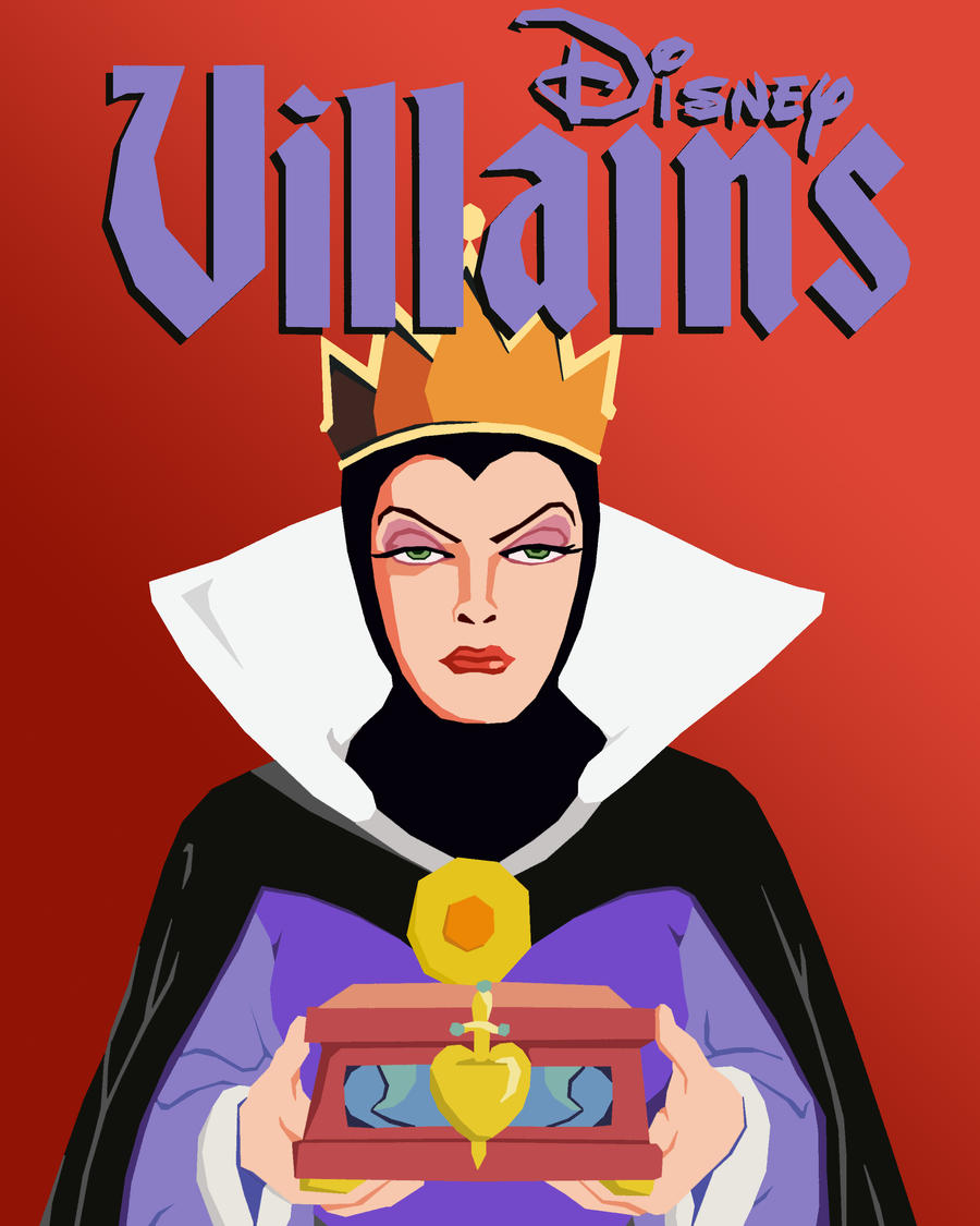 Disney Vector Villains: Evil Queen by tjjwelch on DeviantArtDisney Evil Queen Art