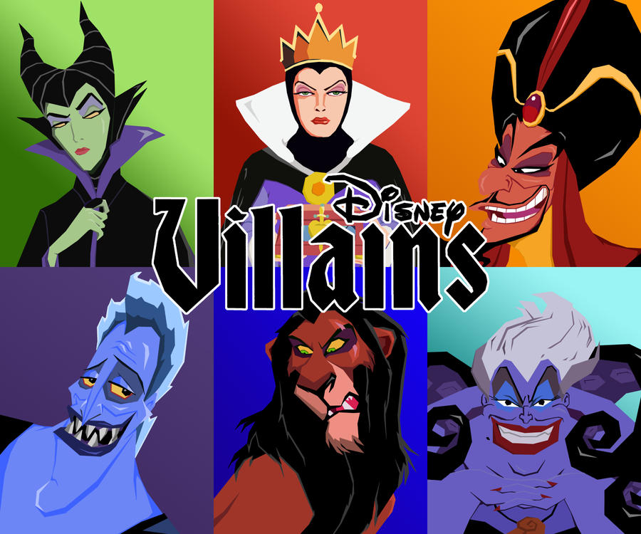 Disney Vector Villains: Group by tjjwelch