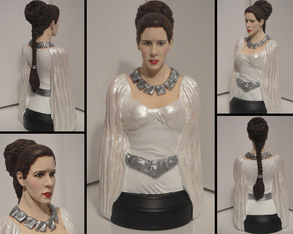 A New Hope\' - Princess Leia Ceremonial Gown Bust by tjjwelch on ...