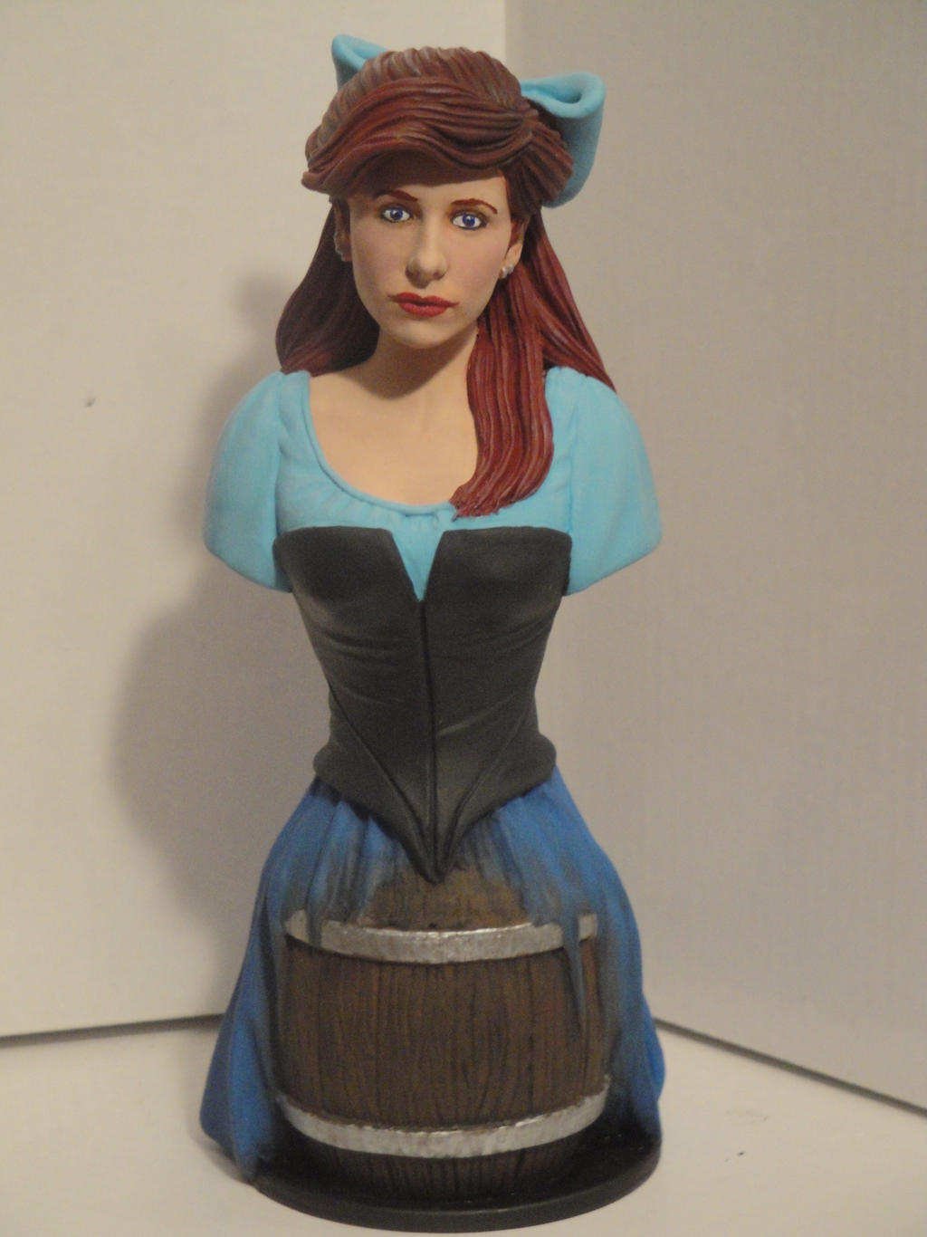 Realistic Disney Princesses - Ariel Bust by tjjwelch on ...