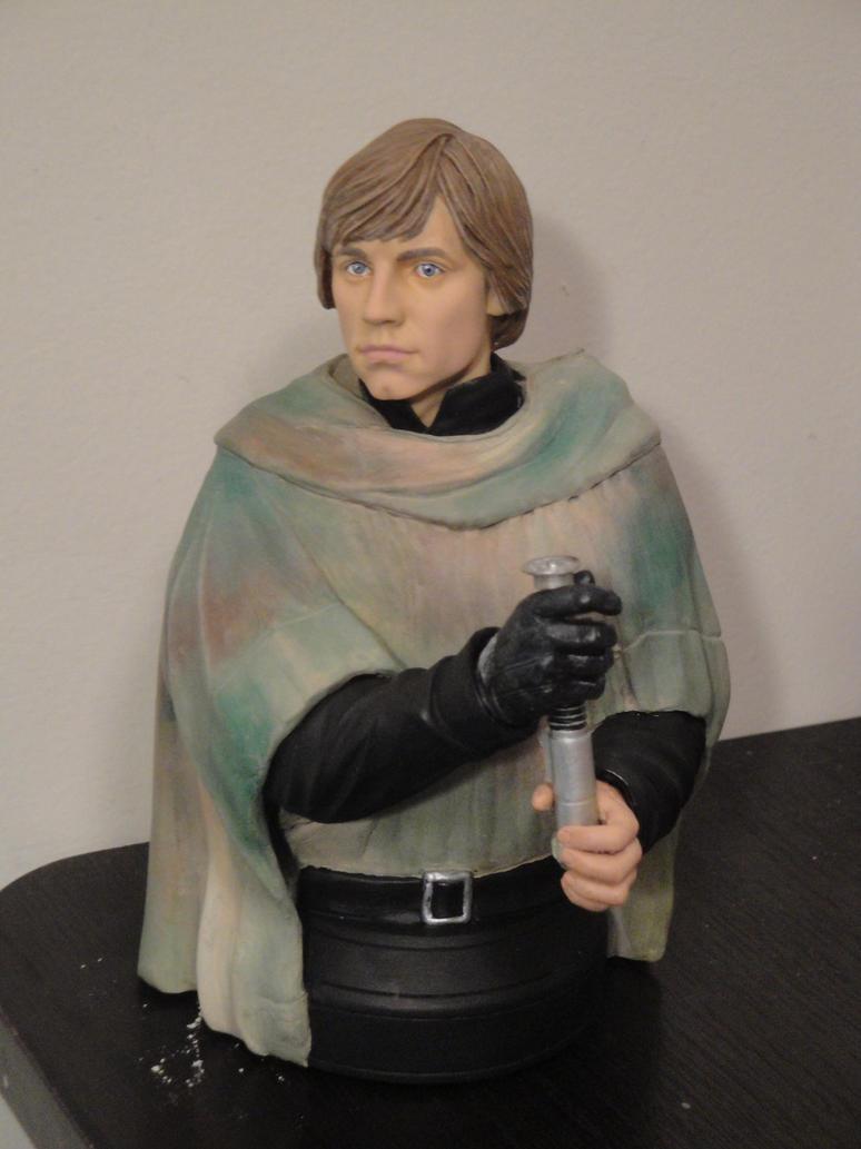 'Return of the Jedi' - Endor Luke Skywalker Bust by tjjwelch