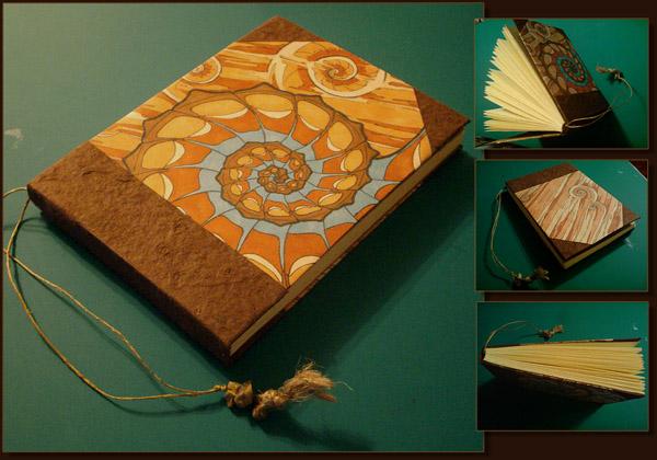 Ammonite book by Swirlything