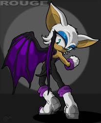 Sneaky little bat girl by Swirlything