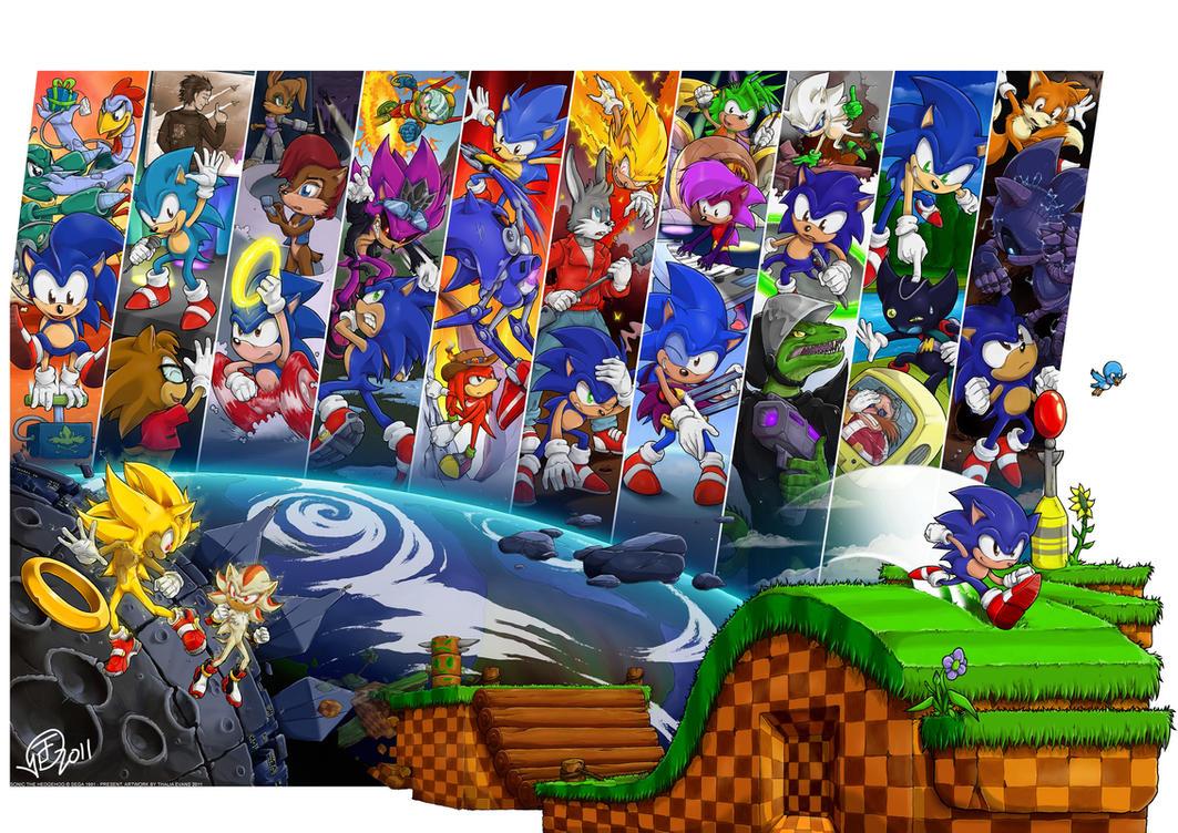 Sonic 20th: Archetype by Swirlything