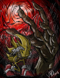 Super Sonic's nightmare by Swirlything