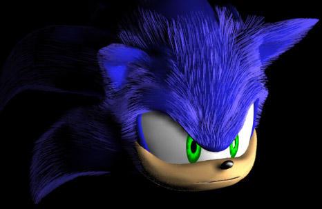 fuzzy wuzzy Sonic by Swirlything