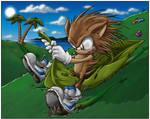 That Sonic Kid- fleetway