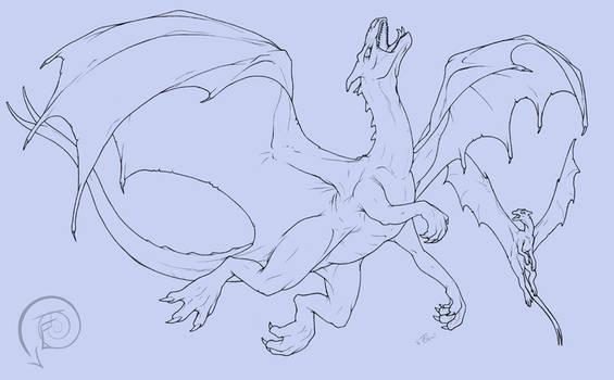 Pernese Dragons WIP
