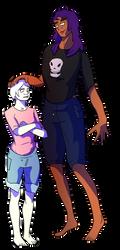 Lydia + Amvira by varkarrus