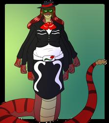 Izadora 'Rose Serpent' Delarita by varkarrus