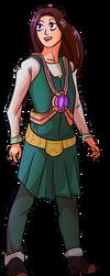 Lina (Wargroove OC, not mine) by varkarrus