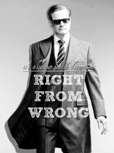 Right from Wrong by RefreshinglyOriginal