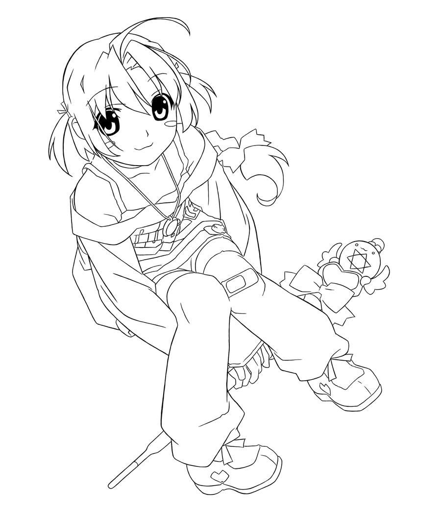 Line Drawing Nurse : Nurse witch komugi line art by mc fischpaste on deviantart