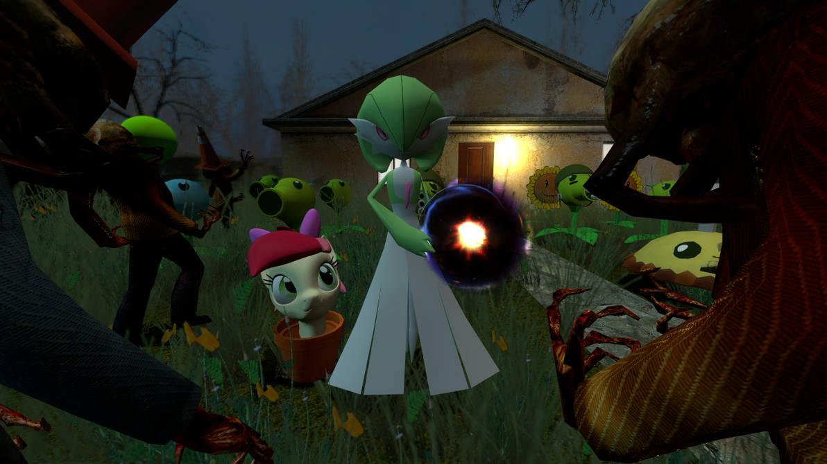 plants vs zombies gmod