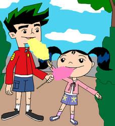 Jake and Haley by MajkaShinoda626