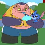 Stitch and Jumba