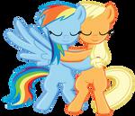 RainbowJack hug -Collab