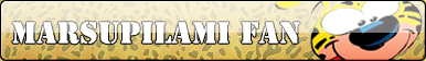 Marsupilami fan button