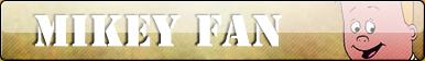 Mikey fan button by Fluttershy626