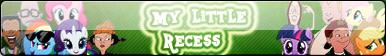My little Recess fan button by Fluttershy626