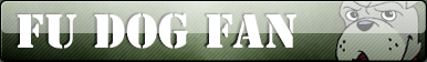Fu dog fan button by Fluttershy626
