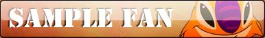 Sample fan button by Fluttershy626