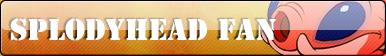 Splodyhead fan button by Fluttershy626