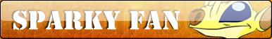 Sparky fan button by Fluttershy626