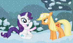 RariJack in the snow