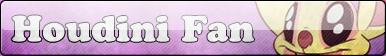 Houdini Fan button by Fluttershy626
