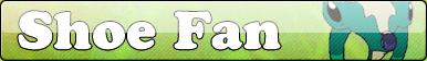Shoe Fan button by Fluttershy626