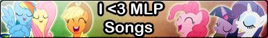 MLP songs -Fan button