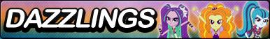 Dazzlings -Fan button