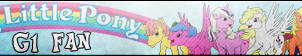 My little pony G1 Fan button by MajkaShinoda626
