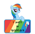 IDDR -Art Status -Rainbow Dash